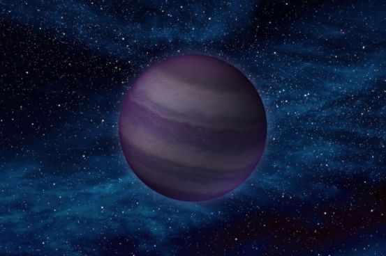 Author's impression of a brown dwarf 55 times more massive than Jupiter.  Credit: NASA/JPL-Caltech