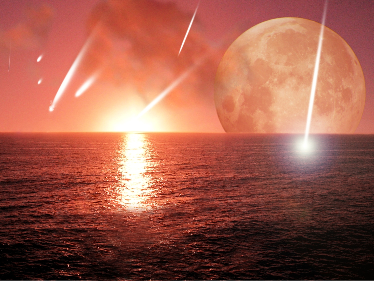 How planets die: pulverized in a deluge of asteroids and comets!